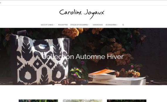 caroline joyaux boutique en ligne 570x350 - Caroline Joyaux, boutique en ligne
