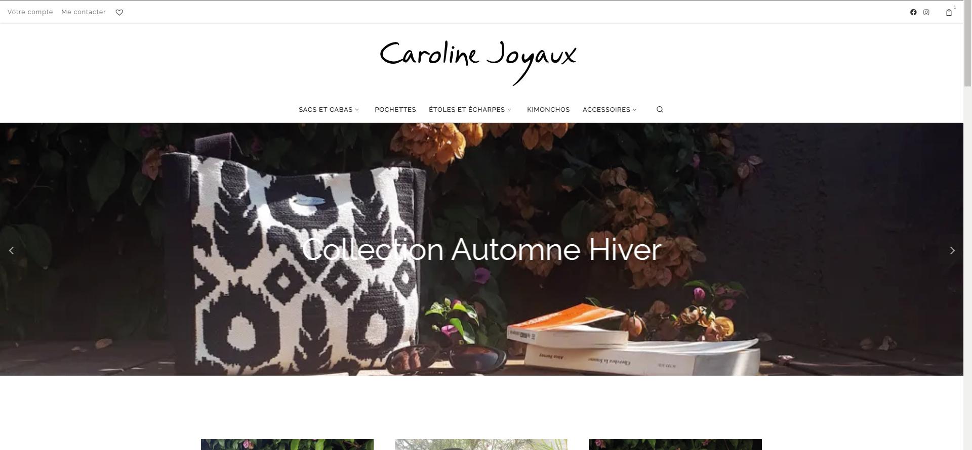 caroline joyaux boutique en ligne - Caroline Joyaux, boutique en ligne